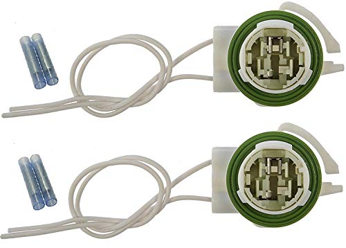Muzzys (SET OF TWO) Wire Harness Pigtail Light Socket Repair Kit, Replaces GM...