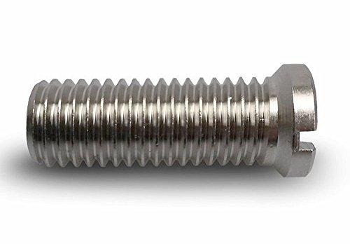 Hohlschraube für Ablaufventil (3/12 Zoll) - passend für Küchenspülen von Franke mit Integralablauf - 133.0024.186 passend für 133.0005.689 und 133.0005.690-36 mm