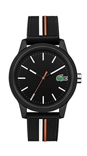 Lacoste Herren Analog Quarz Uhr mit Silicone Armband 2011071