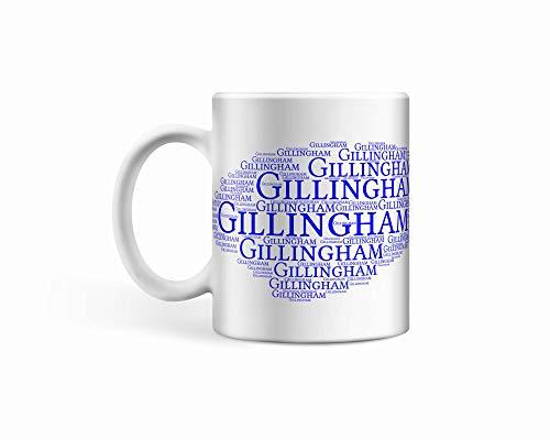 Gillingham FC Ceramic Cloud Mug/Cup