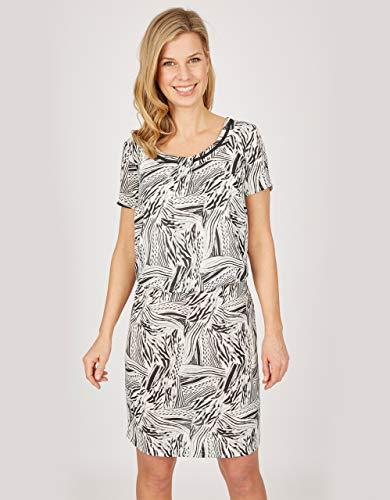 STEILMANN by Adler Mode Damen Kleid schwarz/weiß 40
