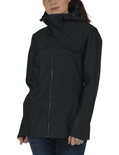 Bench Damen Besureof Jacke, Jet Black, M