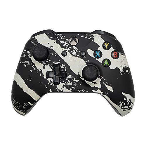 AimControllers Controller Xbox One Wireless Personalizzato - Joystick per Xbox Series X, Xbox Series S, Controller PC Senza Filo - Joypad PC - Pad Xbox One - Gamepad PC - Camo White