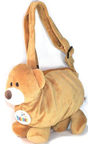 Kinder Plüsch Tasche Kindertasche Kuscheltier Handtasche Kinder Geschenk Bär