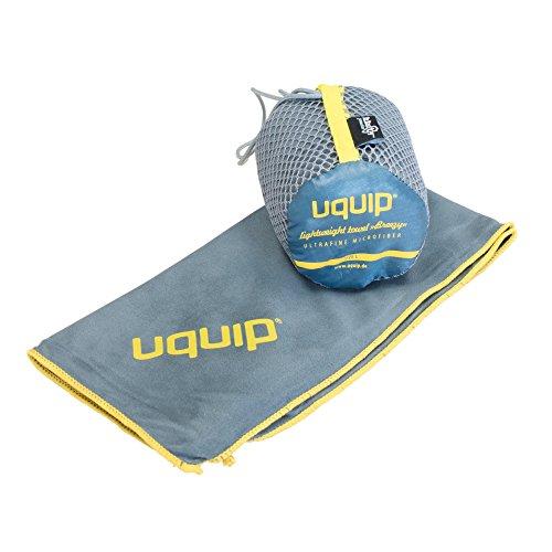 Uquip Microfaser Handtuch Breezy M - Saugfähig, leicht, antibakteriell - 40 x 80cm