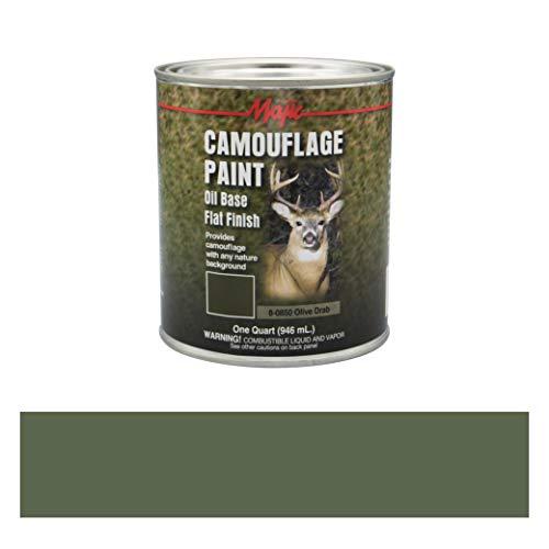 Majic Paints 8-0850-2 Camouflage Paint, 1-Quart, Olive Drab