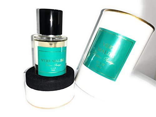 Vert Maliki, eau de parfum, MAH, 50ml, fabriqué en France