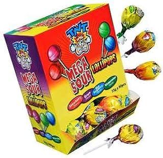 TNT Mega Sour Lollipops