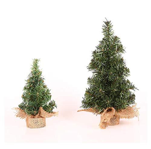 Wxlxl Albero di Natale 2 Confezioni, Alberi di Natale Artificiali Puntali in PVC 100% Vergine Ignifugo