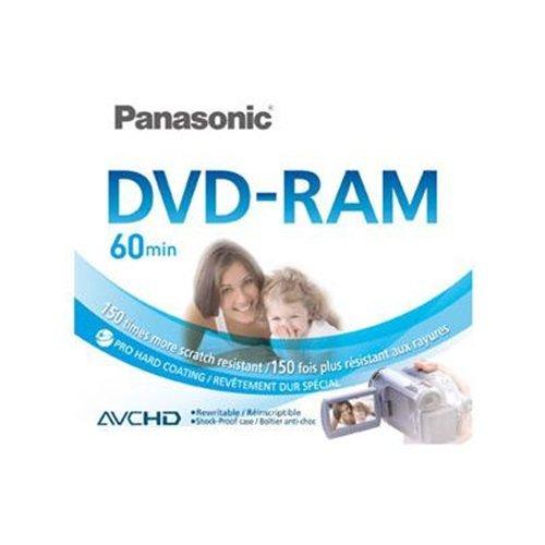 Panasonic LM-AF60E DVD-RAM (8 cm) 2,8 GB 1 Pieza(s) - DVD+RW vírgenes (2,8 GB, DVD-RAM, 80 mm, 1 Pieza(s), 60 min)