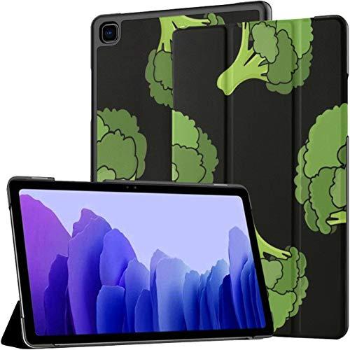Emerald Green Broccoli Fresh Tablet Case Galaxy Tab A7 10.4 Inch Samsung Galaxy Tab A7 Case Tablet Case With Auto Wake/sleep Fit Samsung Galaxy Tab A Case For Galaxy Tab A7 Sm-t500/t505/t507