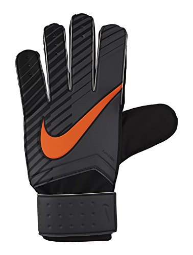 Nike Match Torwarthandschuhe, Dark Grey/Black/Total Orange, 11