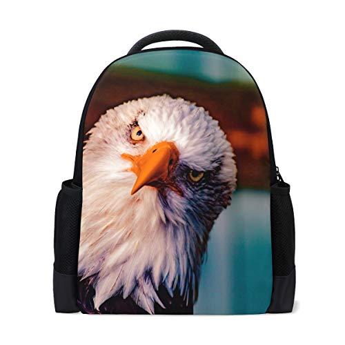 FANTAZIO mochila calva Eagle Head mochila escolar