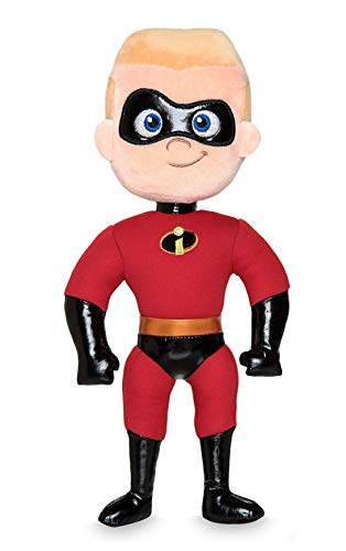 DS Disney Store - Peluche pequeo Dashiell Flash Parr Los Increbles 2 Superhroe original