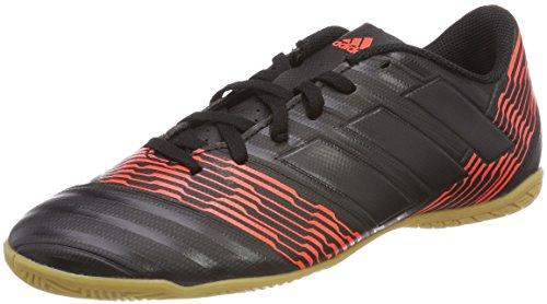 adidas Herren Nemeziz Tango 17.4 IN Fußballschuhe, Mehrfarbig (Cblack/cblack/Solred Cp9085), 42 2/3 EU