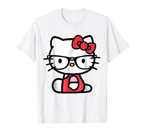 Hello Kitty Nerd Glasses Tee Shirt