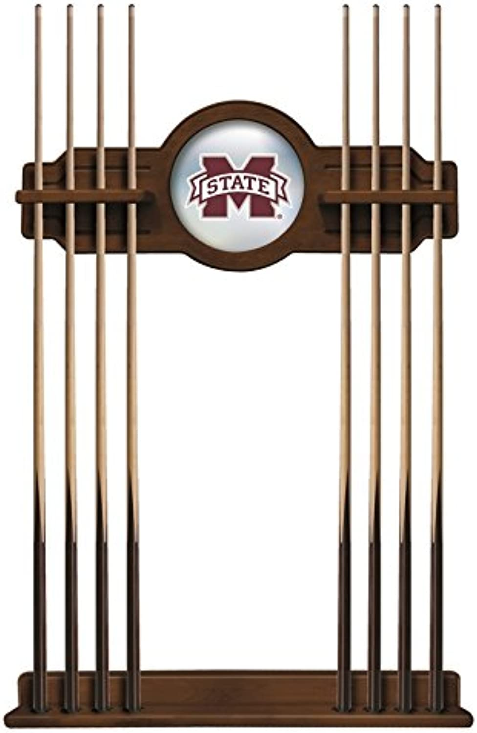 NCAA Pool Cue Rack by Holland Bar Stool, Charwomeny  Mississippi State University