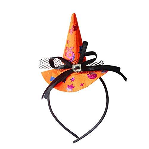 CTOBB Halloween Haaraccessoires Hoofdband Halloween Party Decoratie Kinderen Volwassen Ghost Bat Spider Web Haar Band Kostuum Dress Up Props
