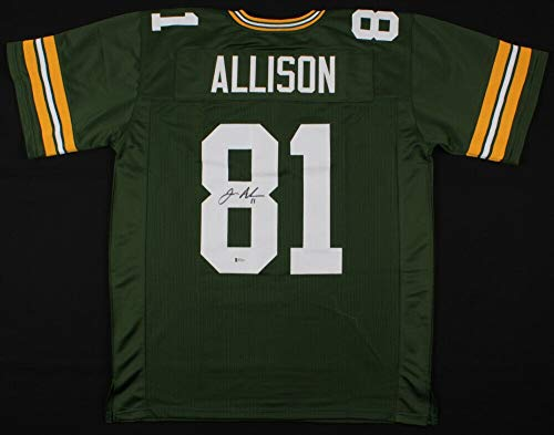 Geronimo Allison Autographed Signed Green Bay Packers Jersey (Beckett COA) Wide Receiver