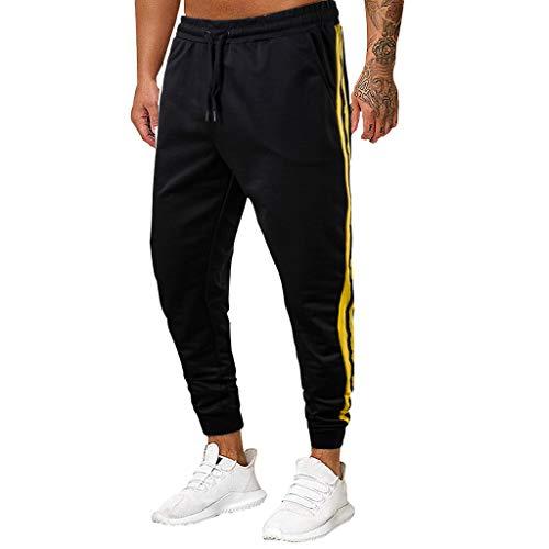 ITISME Herren Jogginghose Sweat Pants, 2019 Herbst Winter Baumwolle Slim Fit Herrenmode Gedruckt Lange Jeans Slim Fit Hosen Freizeithose in Voller Länge Hosen