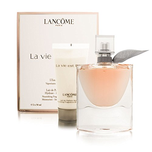Lancome La Vie Est Belle Spray and Body Lotion for Women, 1.7 Fl. Oz, 2 Pieces