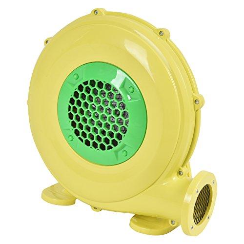 COSTWAY 380W Soplador para Castillo Hinchable Ventilador de Aire Eléctrico para Juguetes Inflables