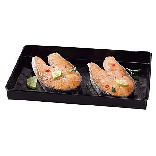 Durandal Auflaufform Alternative für den Backofen | Ofenform für nahezu alle Öfen geeignet | Ideal geeignet zum Garen und Backen | Grill Zubehör (Garschale 3 L)