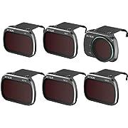 Skyreat Mini 2 Mavic Mini ND Filter Kamera Objektive 6er-Pack (CPL, UV, ND8, ND16, ND32, ND64) Kompatibel mit der DJI Mini 2 Mavic Mini Drone