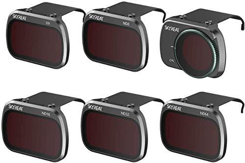 Skyreat MINI SE Set di filtri ND per obiettivi della fotocamera Set da 6 (CPL, UV, ND8, ND16, ND32, ND64) Compatibile con DJI MINI SE Mini 2 Mavic Mini Camera