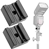 Updated Anwenk Flash Cold Shoe Mount Adapter Flash Shoe Mount Flash Stand Adapter with 1/4...