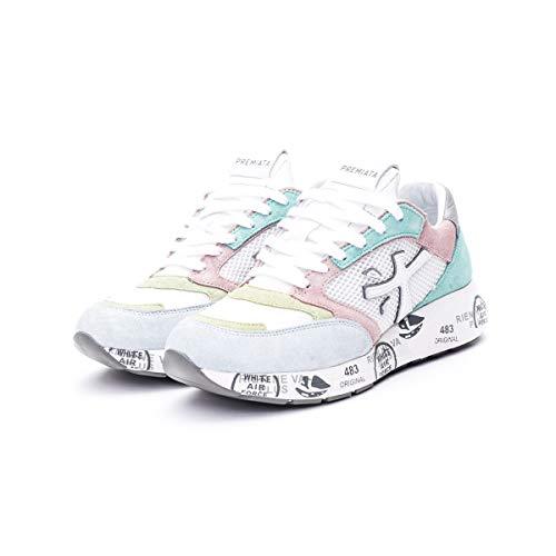 Sneakers Mujeres PREMIATA ZacZacD 4591D Gamuza Tejido Multi