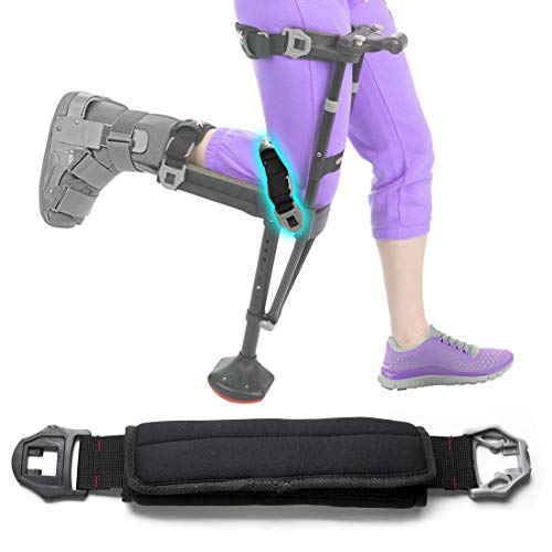 iWALK2.0 Hands Free Crutch - Alternative for Crutches and Knee Scooters - Factory Replacement Knee Strap