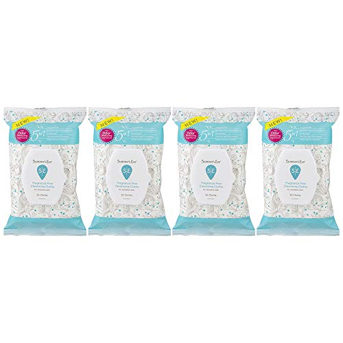 Summer's Eve Cleansing Cloths Fragrance Free pH-Balanced, Unscented, 32 Cloths (Pack of 4)