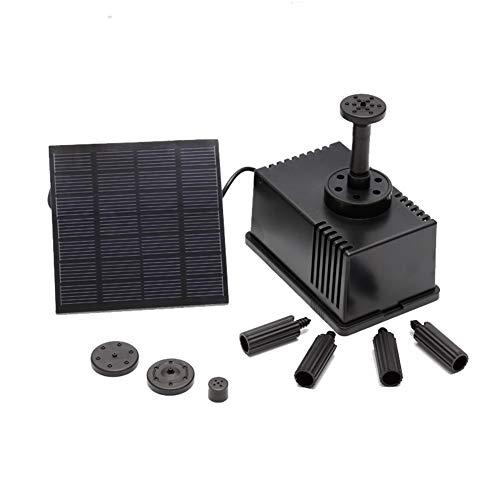 Denret3rgu Garden Decor Solar Filtering Fountain Submersible DC Water Pump AS180-0715B