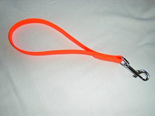 Angel for Pets MJH BioThane Kurzführer Schlaufe 25cm/16mm orange