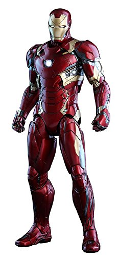 Hot Toys Marvel Captain America Civil War Iron Man Mark XLVI 46 DIECAST 1/6 Scale Figure