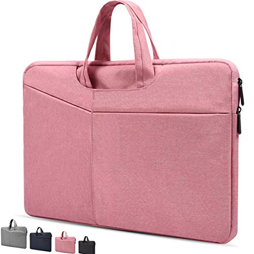 Laptoptasche für 39,6 cm (15,6 Zoll) Acer Aspire E 15,HP Pavilion X360 15,6 Zoll, Predator Helios 300, ASUS VivoBook F510UA 15, Dell LG MSI HP Lenovo Laptop rosa rose 13-13.5 Inch