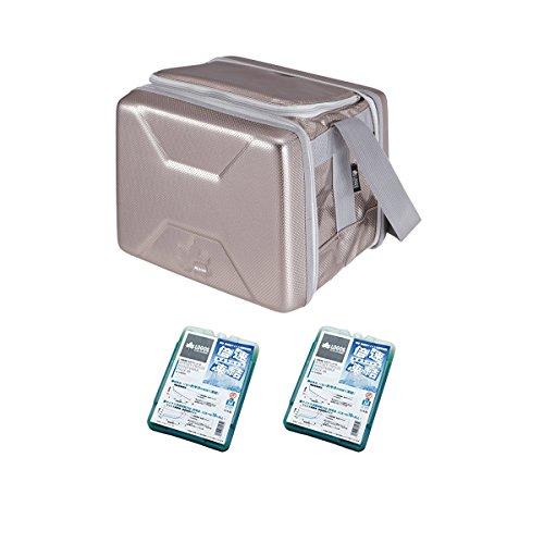 ロゴス LOGOS ハイパー氷点下クーラーM + 倍速凍結・氷点下パックM×2個 お買い得3点セット R167N001