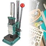 Máquina de prensado manual, máquina de punzonadora de prensa manual de escritorio Máquina de prensado manual pequeña con mandril Apto para mecanizar piezas pequeñas para prensar(#1)