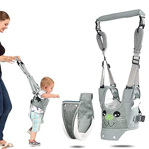 Arnés para caminar para bebé, ayudante de mano para niños, arneses de seguridad ajustables, levantamiento de tiras, transpirable, de pie, para aprender a caminar, para 6 – 24 meses