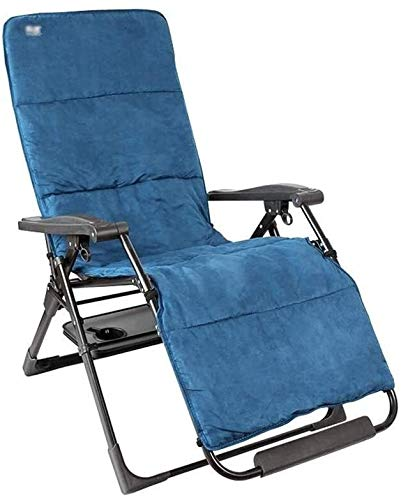 Aoyo 90°-156° Adjustment Chair,Portable Folding Recliner With Disassembled Headrest,Camping Sloping Chair,Indoor Nap Lazy Chair (Color : D)