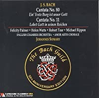 Cantatas 11 & 80 by J.S. Bach