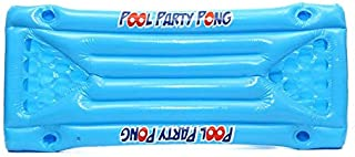 ouying1418 Inflatable Beer Pool Pong Float Table Raft Lounge Party Game 24 Cup Holder