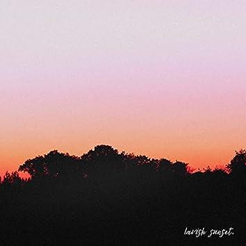 lavish sunset.