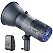 #LightningDeal Neewer Vision 4 300W GN60 Outdoor Studio Flash Strobe Li-ion Battery Powered Cordless Monolight with 2.4G Wireless Trigger, 700 Full Power Flashes, Recycle in 0.4-2.5 Sec, Bowens Mount