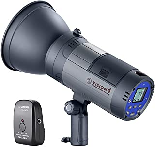 Neewer Battery Powered (700 Full Power Flashes) Outdoor Studio Flash Strobe Li-ion Battery with 2.4G System(Trigger Included),German Engineered,3.96 Pounds,Vision 4 for Location Shooting,Bowens Mount