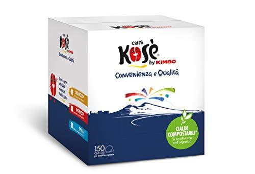Kosè By Kimbo Cialde Cremoso Compostabili Ese 150 Pezzi - 900 g