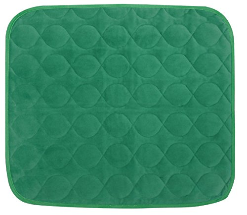 Platinum Care Pads Velvet Opulence Premium Comfort Chair Pad/Underpad Washable Size - 18X24 (Green)