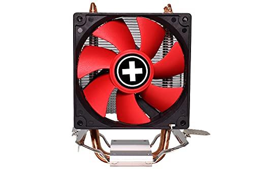 Xilence Performance C Serie   CPU Kühler   A402   Heatpipe   92 mm PWM Lüfter   130 Watt TDP   AMD   rot/schwarz