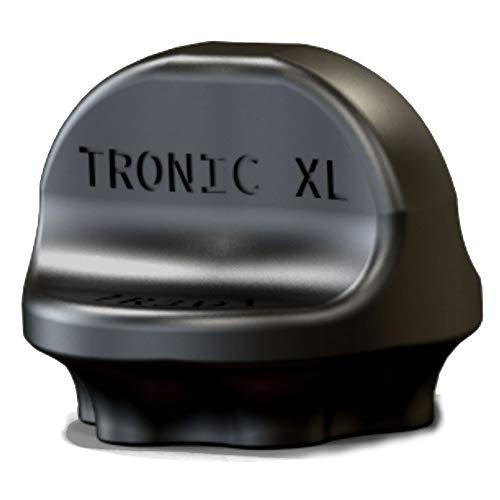 TronicXL Drehhilfe Teiglöser Zubehör passend für Vorwerk Thermomix TM5 TM6 Teigblume Ersatzteil TM 5/6 Teig Löser lösen (Schwarz)